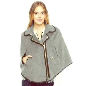 NWOT Juicy Couture Wool Poncho